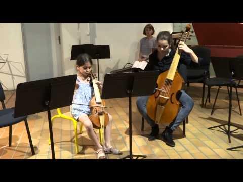 Chloé et Alix jouent Marin Marais