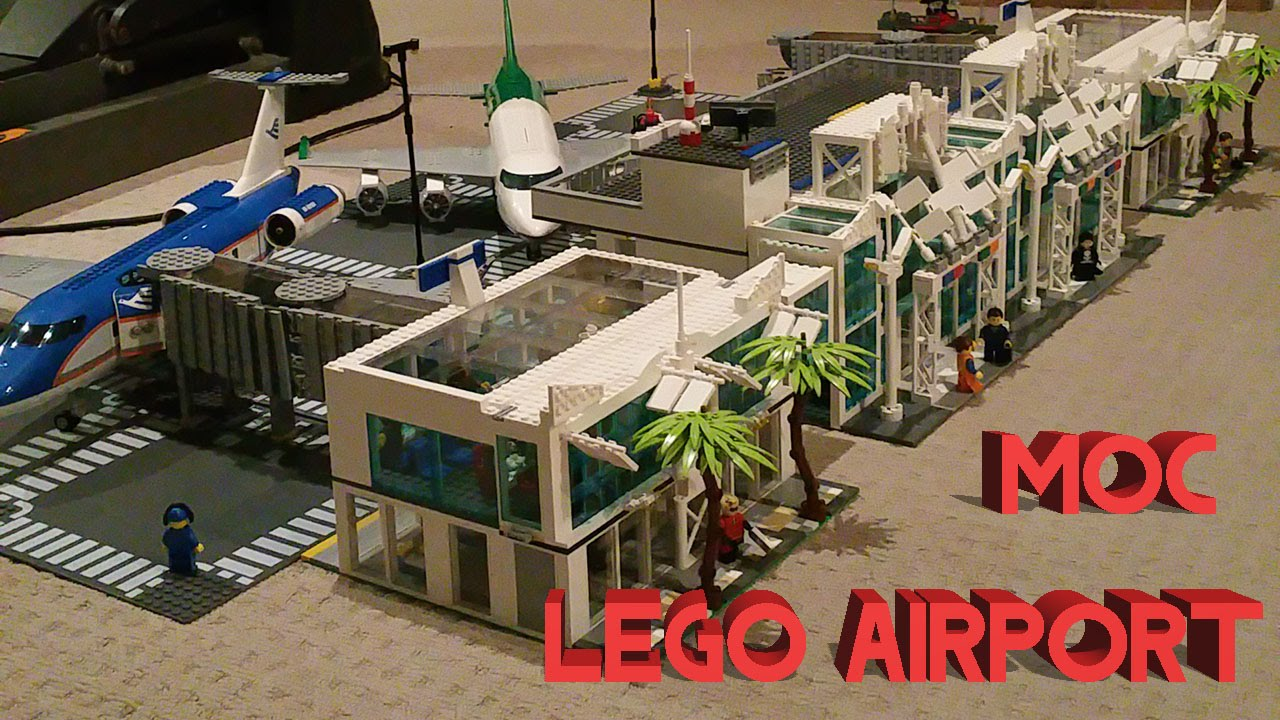 Lego International Airport Moc Complete Review Youtube