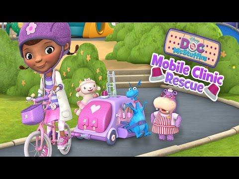 Disney Doc McStuffins: Mobile Clinic Rescue (Disney) - Best App For Kids