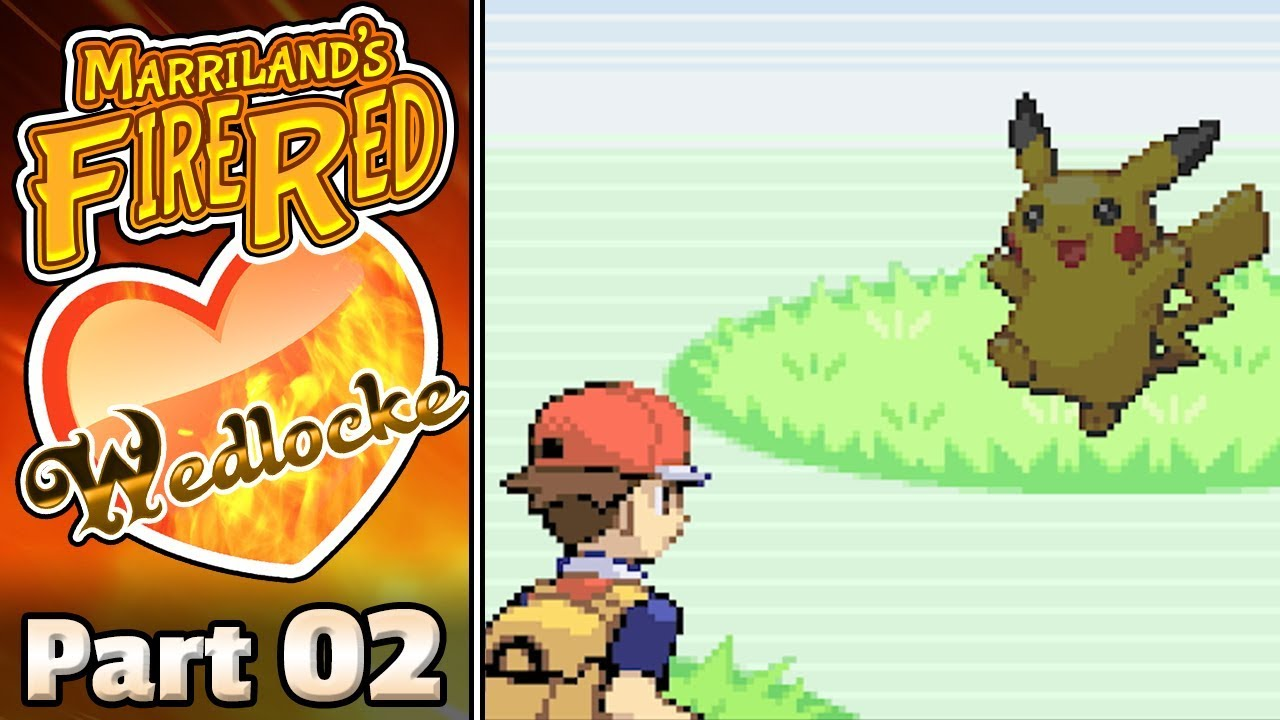 Pokémon Firered Wedlocke Part 02 Take A Pikachu Youtube