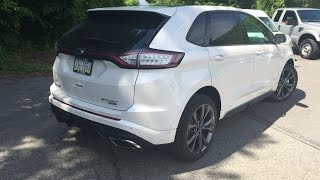 2015 Ford Edge Sport AWD EcoBoost - Review And Test Drive/Performance Test