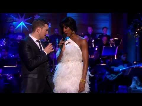 Michael Bublé & Kelly Rowland White Christmas