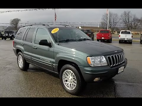 Charming 2003 Jeep Grand Cherokee Limited 4X4|18157A