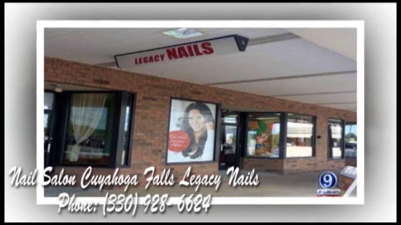 9/8/16 Nail Salon Cuyahoga Falls Legacy Nails Photos - YouTube