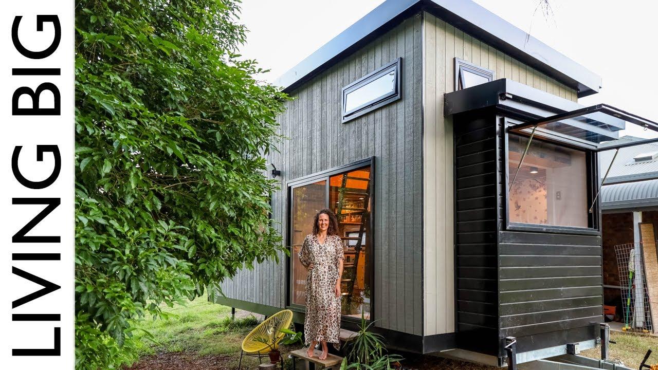 Japanese Meets Scandinavian Design In Zen Inspired Tiny House Youtube