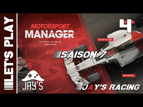 [FR] Motorsport Manager - Jay's Racing - Saison 07 - GP Doha - Épisode 4