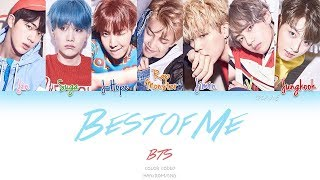 Video BTS (ft. The Chainsmokers) - Best Of Me (Color Coded Han|Rom|Eng Lyrics) download MP3, 3GP, MP4, WEBM, AVI, FLV Juli 2018