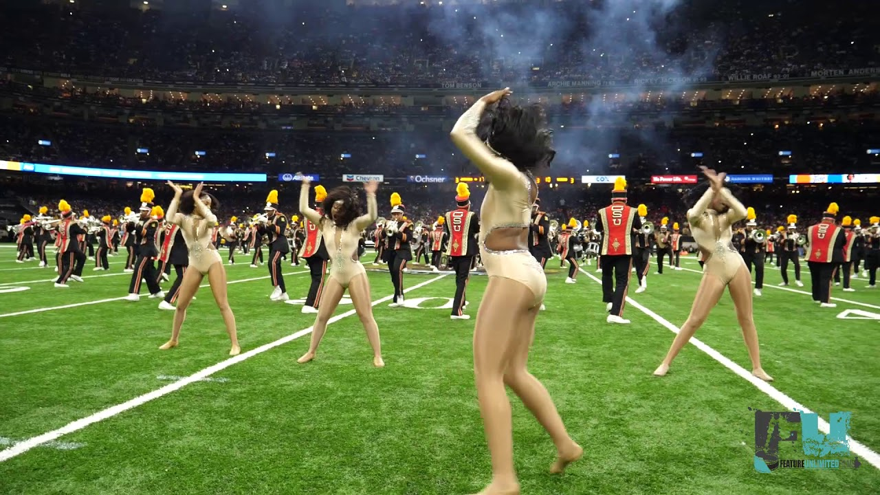 Watch This! 2018 Grambling State Bayou Classic Halftime Performance
