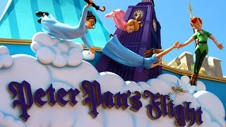 360º Ride on Peter Pan's Flight with Queue at Magic Kingdom