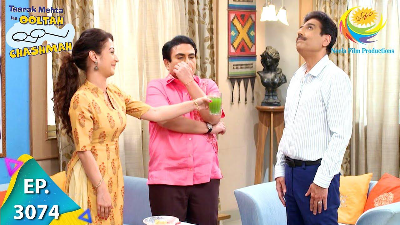 Download Taarak Mehta Ka Ooltah Chashmah - Ep 3074 - Full Episode - 6th January, 2021