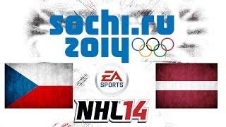 Český Let´s play | NHL 14 | ZOH 2014 | CZE - LAT | Xbox 360