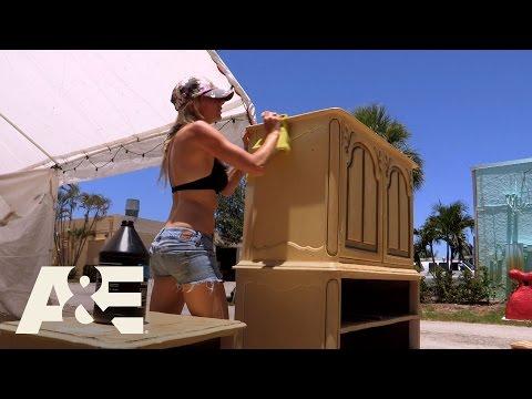 Storage Wars: Miami: Greg and Lindsey's Rehab Process (Season 1, Episode 1) | A&E