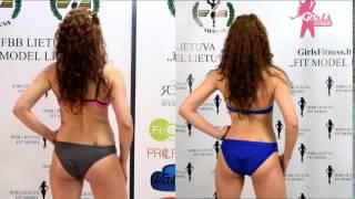 Fit model Lietuva dalyvių transformacija myGym sporto klube