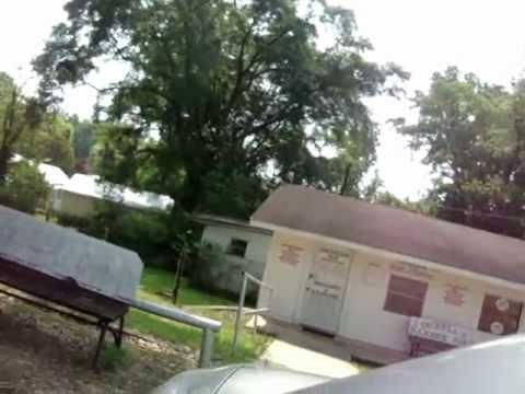 Greyhound Bus Station, Alexander City, Alabama, Hwy 280. 5/27/2012