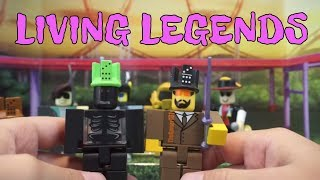UNBOXING LEGENDS OF ROBLOX MEET 6 OF THE GREATEST GAME CREATORS OF ALL TIME
