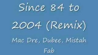 Since 84 to 2004 (Remix)