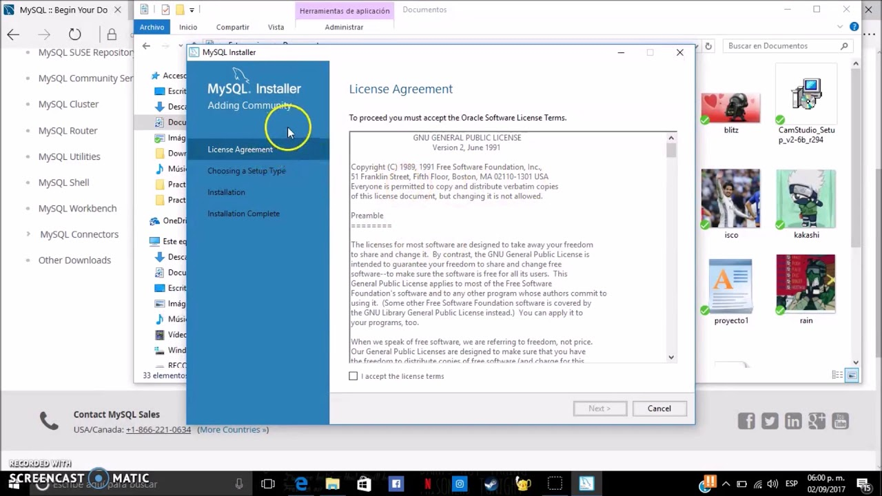 Como Instalar MySQL En Windows