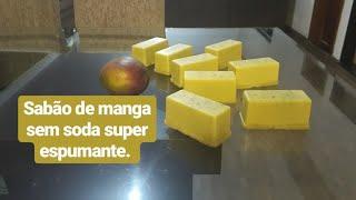 Como Fazer Sabão Sem Soda de Manga Super Espumante.