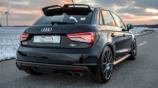 """CRAZY 400HP(!!) AUDI S1 SPORTBACK REVO - """"Pocket rocket"""" term has never been so right - In detail"""