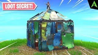 3 * casas secretas * para loot em Fortnite..