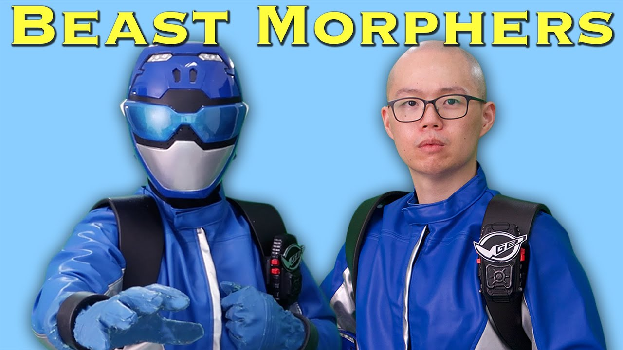 Power Rangers Beast Morphers Blue Ranger Cosplay Review [UNBOXING]