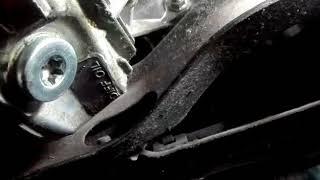 SH Subaru Forester, Замена масла в переднем редукторе