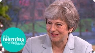 Prime Minister Theresa May Suggests It Might Be Time to Change Tuition Fees | This Morning thumbnail