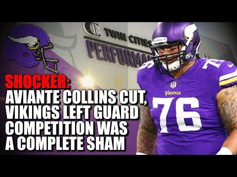 SHOCKER: Aviante Collins Cut, Vikings LG Competition Was a Sham 🤬🤬🤬