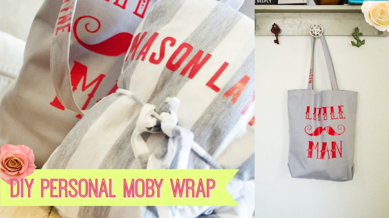 ba7f50059 DIY PERSONAL Moby Wrap For a baby gift - YouTube