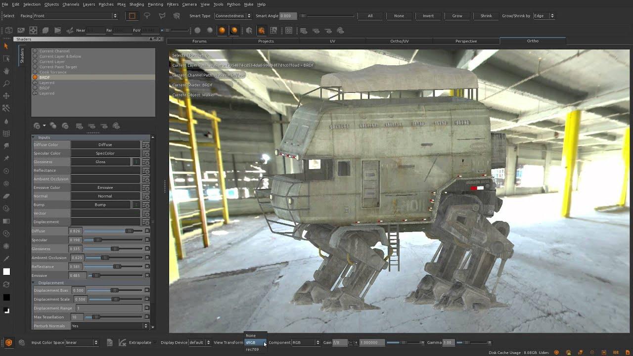 Custom brdf shaders for mari 2. 6 teaser youtube.