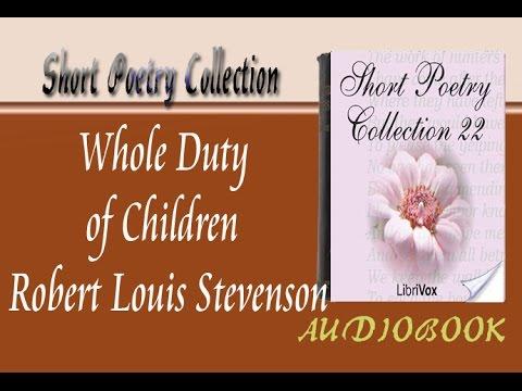 Whole Duty of Children Robert Louis Stevenson Audiobook Short Poetry