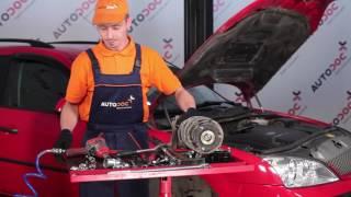Kuinka vaihtaa iskunvaimentimen yläkiinnikkeen korjaussetti FORD MONDEO 3 merkkiseen autoon
