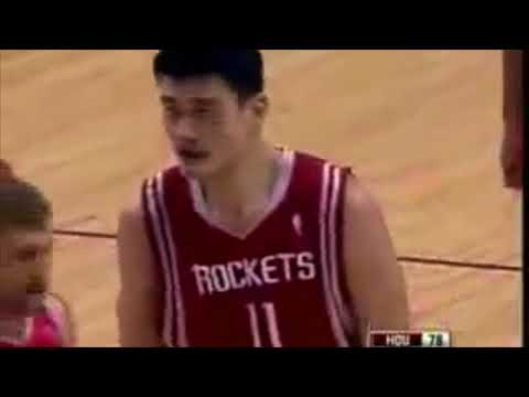 """Yao Ming """"The Great Wall"""""""