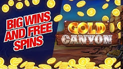 Try NEW Gold Canyon Slot Game! Great BONUSES and FREE SPINS!