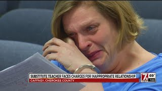 Download Video Gaffney HS substitute teacher accused of sexual battery with student MP3 3GP MP4
