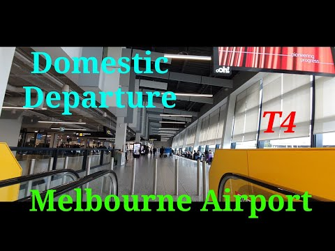 Melbourne Airport T4 Domestic Departure | Tiger Airways