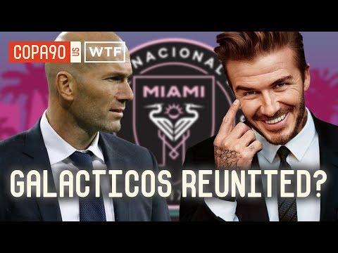 Is Zidane Joining Beckham in MLS? | Walk Talk Football