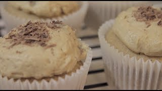 Brown Butter Cookie Dough Cupcakes