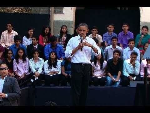 Town Hall with Students in Mumbai