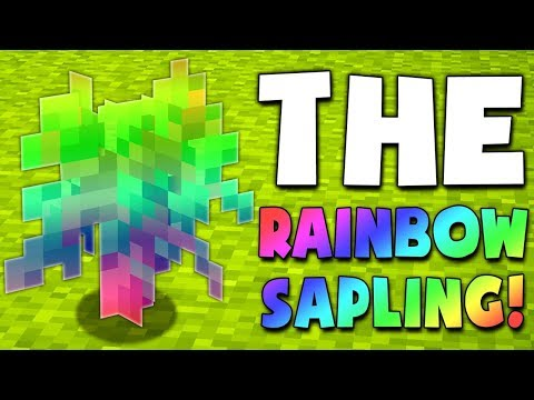 PLANTING RAINBOW SAPLINGS!