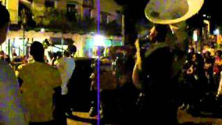 Young Fellas Brass Band on Frenchmen Street 08-28-2010 #2.MOV
