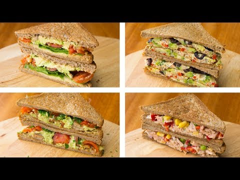 4 Healthy Sandwich Recipes For Weight Loss | Healthy Lunch I
