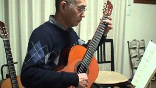 Kleine Romanze Luise Walker classical guitar 小さなロマンス ルイゼ・ワルカー  青木一男