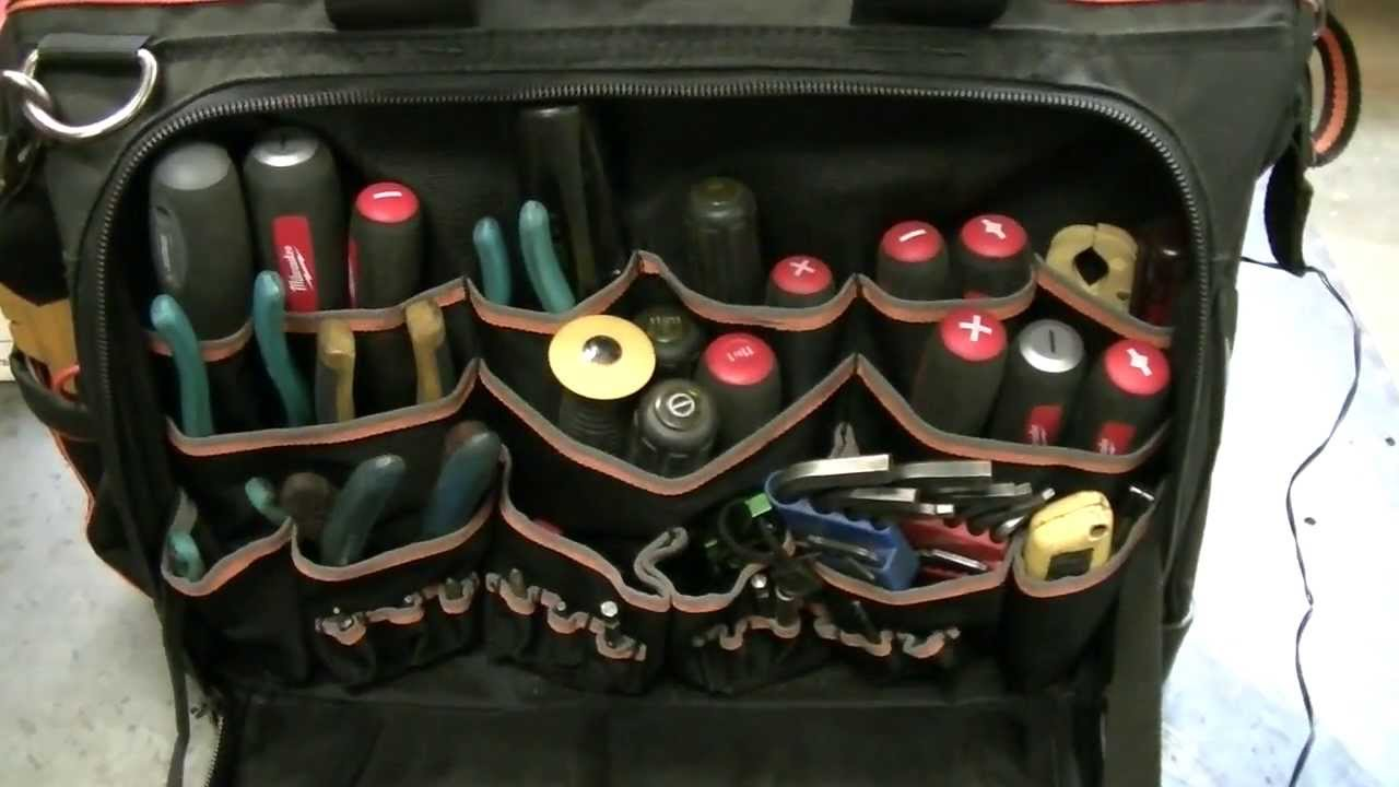 review of my new klein ultimate tradesman pro tool bag