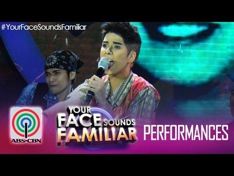 """Your Face Sounds Familiar: Maxene Magalona As Francis Magalona - """"Mga Kababayan Ko"""""""