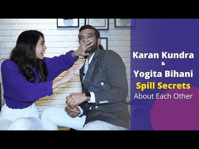 Dil Hi Toh Hai stars, Karan Kundrra and Yogita Bihani, spill SECRETS about each other