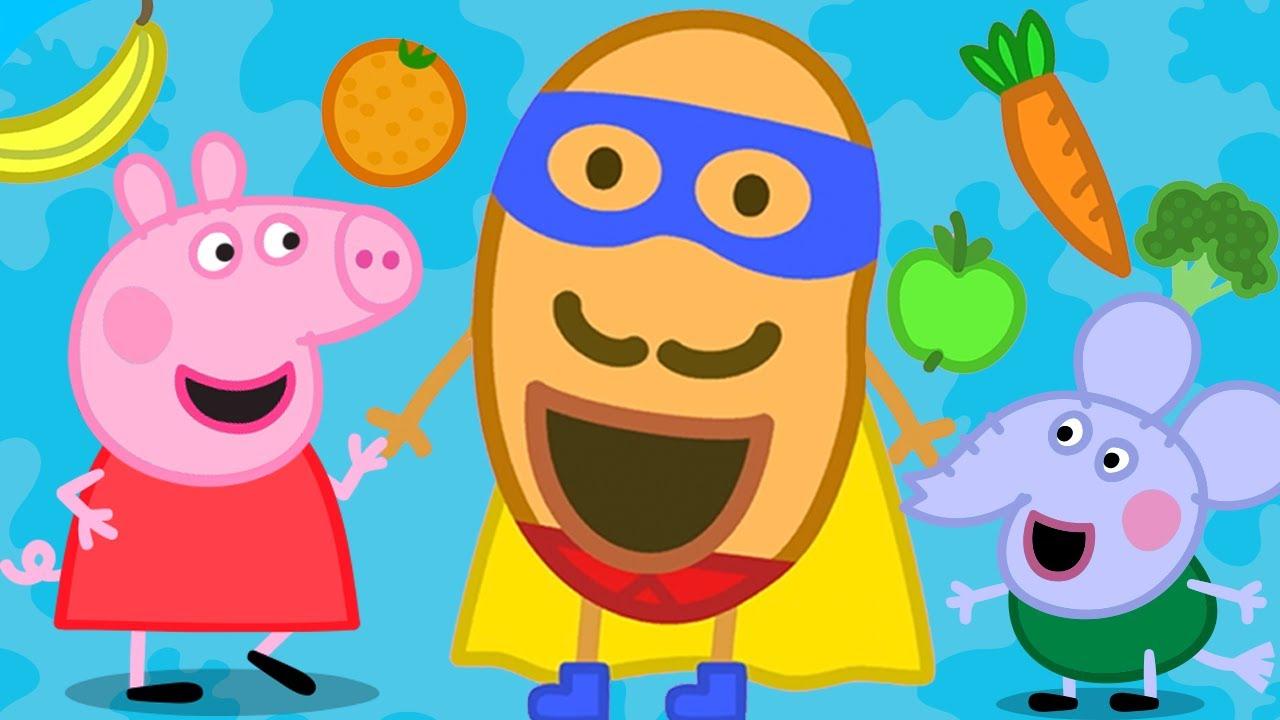 Peppa Pig Français NOUVEAU ! | Mr Super Patate | Dessin Animé Pour Bébé