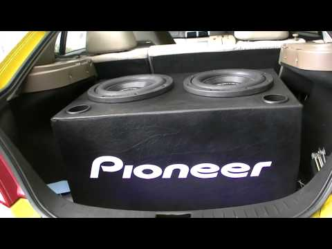Got The PORTS IN - 30.5Hz Tuned Pioneer SPL Subwoofers