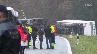So kam es zum Horror-Unfall im Aargau