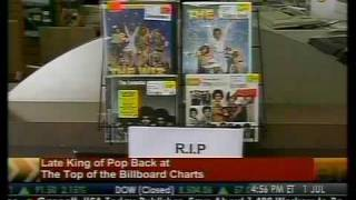 Late King of Pop Back at Top of Billboard Charts - Bloomberg